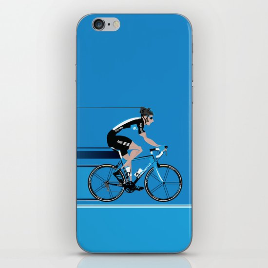 Bradley Wiggins Team Sky iPhone & iPod Skin