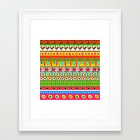 quilt Framed Art Prints featuring Quilt by V.M.