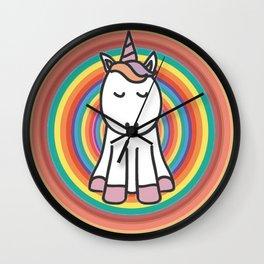 Pride Unicorn Wall Clock