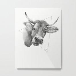 Udder Nonsense Metal Print
