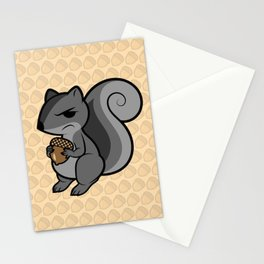 Disgruntled Nut Stationery Cards
