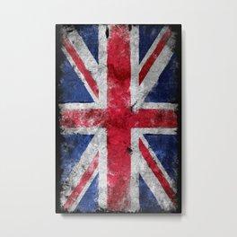 United Kingdom Vintage flag Metal Print