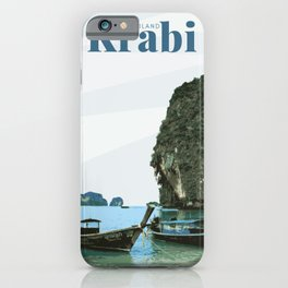 Krabi Thailand iPhone Case