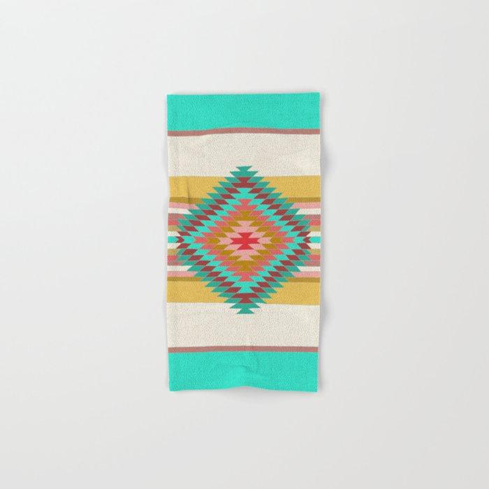 FIESTA (teal) Hand & Bath Towel