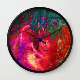 Weeping Fireworks Wall Clock