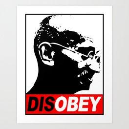 Mahatma Gandhi Civil Disobedience Art Print