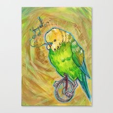 Unicycle Songs Canvas Print