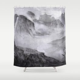 Rise of Renchak Palace Shower Curtain
