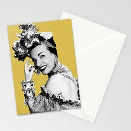 Carmen Miranda Portrait, Black and White Artwork for Wall Art, Prints, Posters, Tshirts, Bags, Men, Stationery Cards