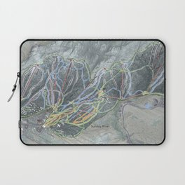 Sunday River Resort Trail Map Laptop Sleeve