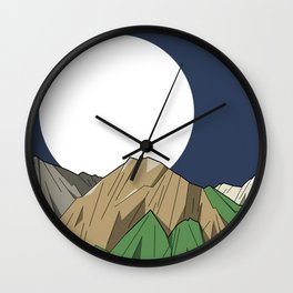 Mount Olympus Wall Clock