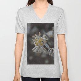 Floral Print 099 Unisex V-Neck