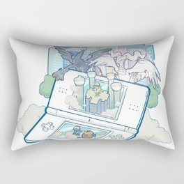 Pocket Monsters V4 - Facing Time & Space Rectangular Pillow