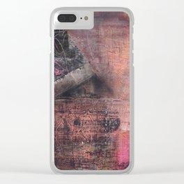 Scratch II Clear iPhone Case