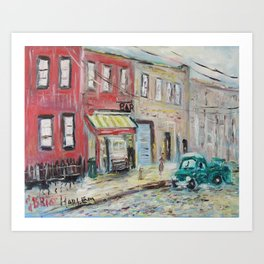 Harlem Blues Bar Art Print