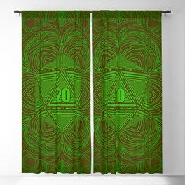 Natural 20 Mandala Woodland Stride Blackout Curtain
