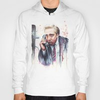 nicolas cage Hoodies featuring Nicolas Cage by Olechka