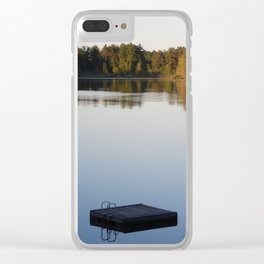 Waiting To Swim Clear iPhone Case