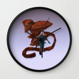 Raiden Wall Clock