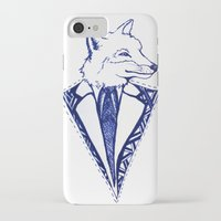 mr fox iPhone & iPod Cases featuring MR. FOX by Sagara Hirsch