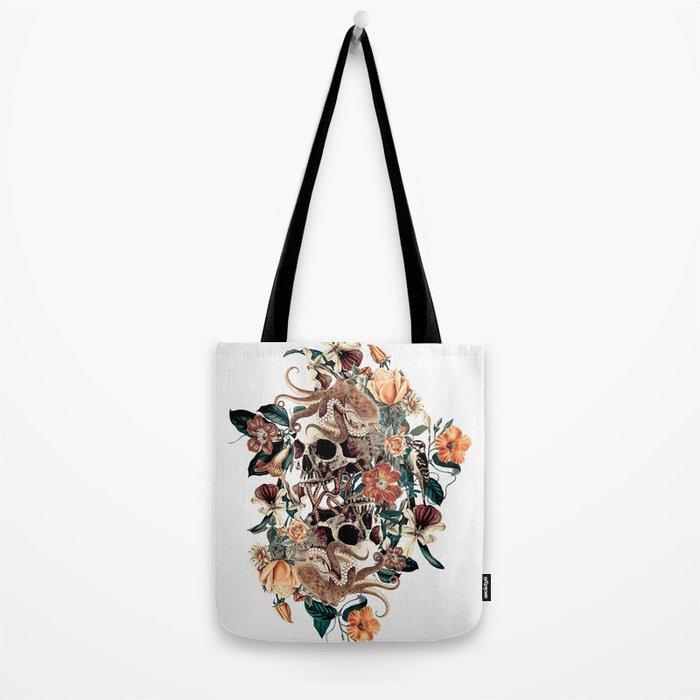 Fantasy Skull Tote Bag