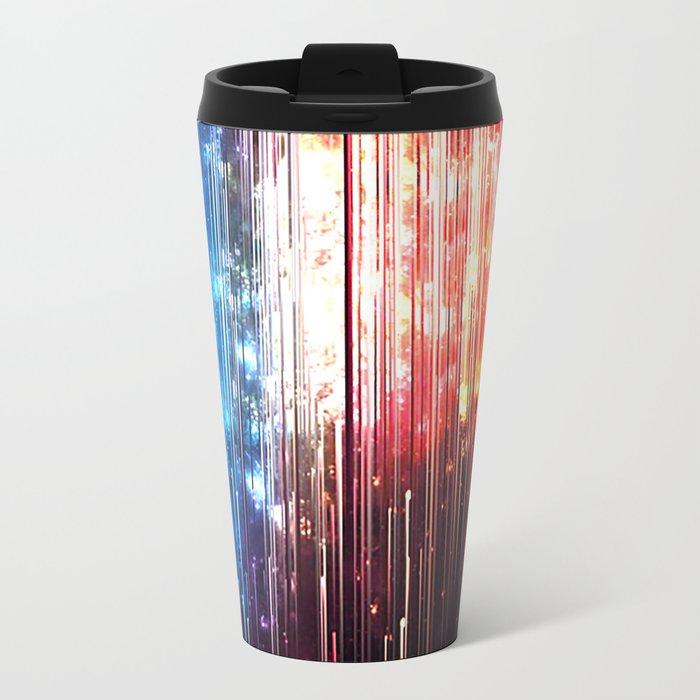 SUPERLUMINAL Metal Travel Mug