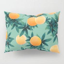 Orange Twist Vibes #1 #tropical #fruit #decor #art #society6 Pillow Sham