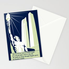 The Torch, in Flanders Fields Stationery Cards