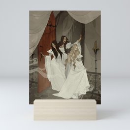 Those Weird Sisters Mini Art Print