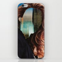 sin city iPhone & iPod Skins featuring Sin City by Imogen Art