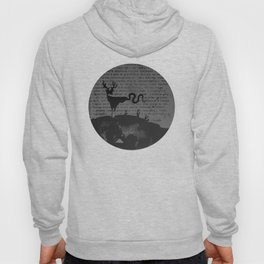 deer forest Hoody