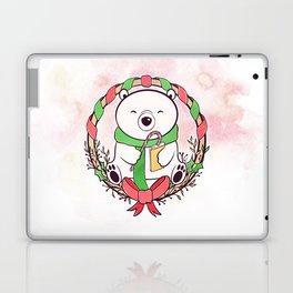 POLAR BEAR READS Laptop & iPad Skin