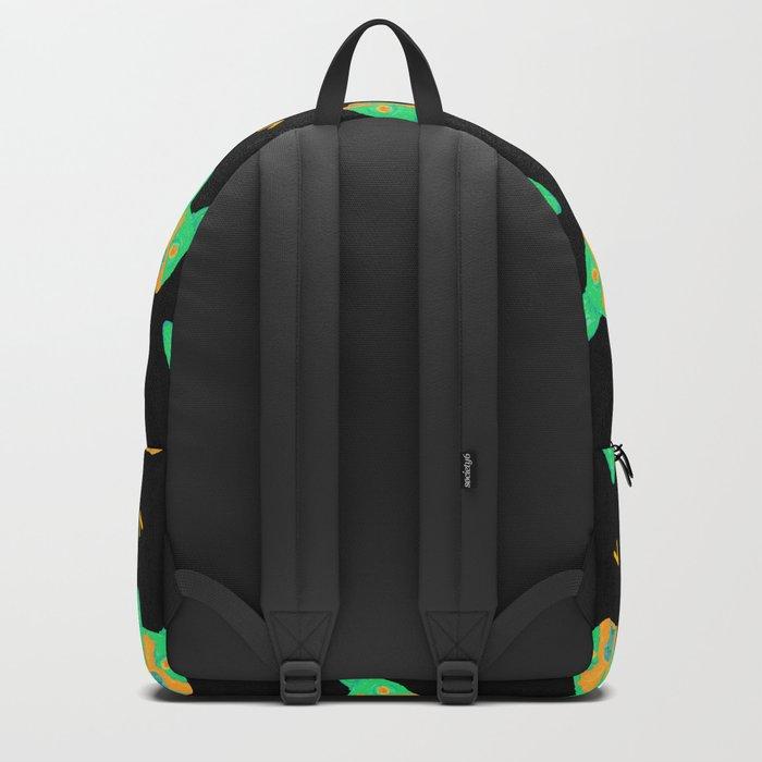 boston terrier - blk pattern Backpack