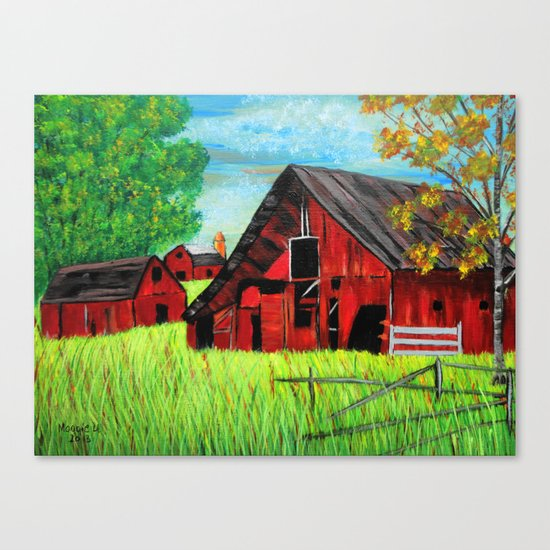 Old Farm 2 Canvas Print