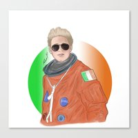 niall horan Canvas Prints featuring Niall Horan by _ARTISTAGRAM_
