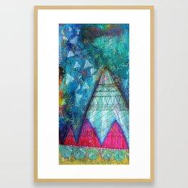 Do Not Fear the Stars Framed Art Print