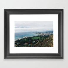 vctn 03 Framed Art Print