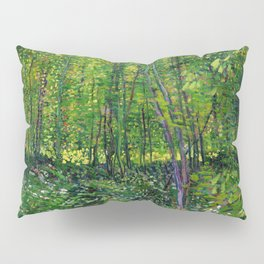 Vincent Van Gogh Trees & Underwood Pillow Sham