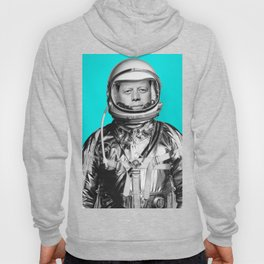 "JFK ASTRONAUT (or ""All Systems Are JFK"") Hoody"