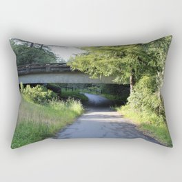 Below the Road Rectangular Pillow