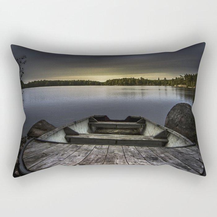 I beg you Rectangular Pillow