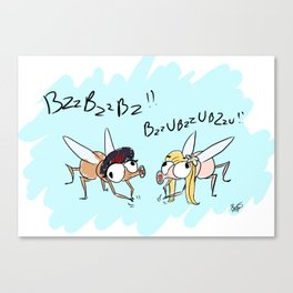 BzzBzz Canvas Print