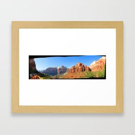 Highway 9 Framed Art Print