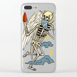 To heaven Clear iPhone Case