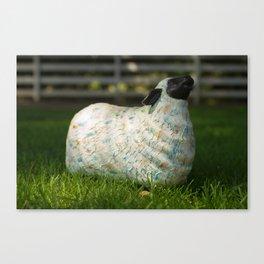 Colorfully Sheepish Canvas Print