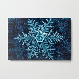 Snowflake - HIGH Metal Print