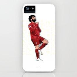 """The Egyptian King """"Mo Salah"""" iPhone Case"""