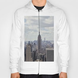 New York State of Mind view, Empire State building | The beautiful NYC from above on top of the Rock Hoody