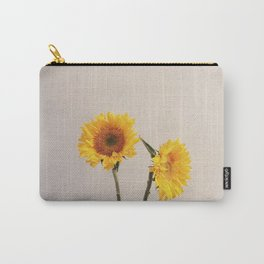Sunflowers Minimalistic Carry-All Pouch