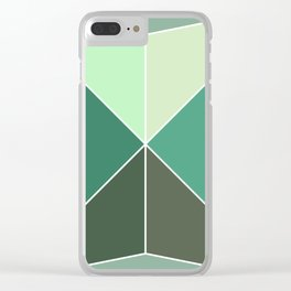 Mosaic tile Clear iPhone Case